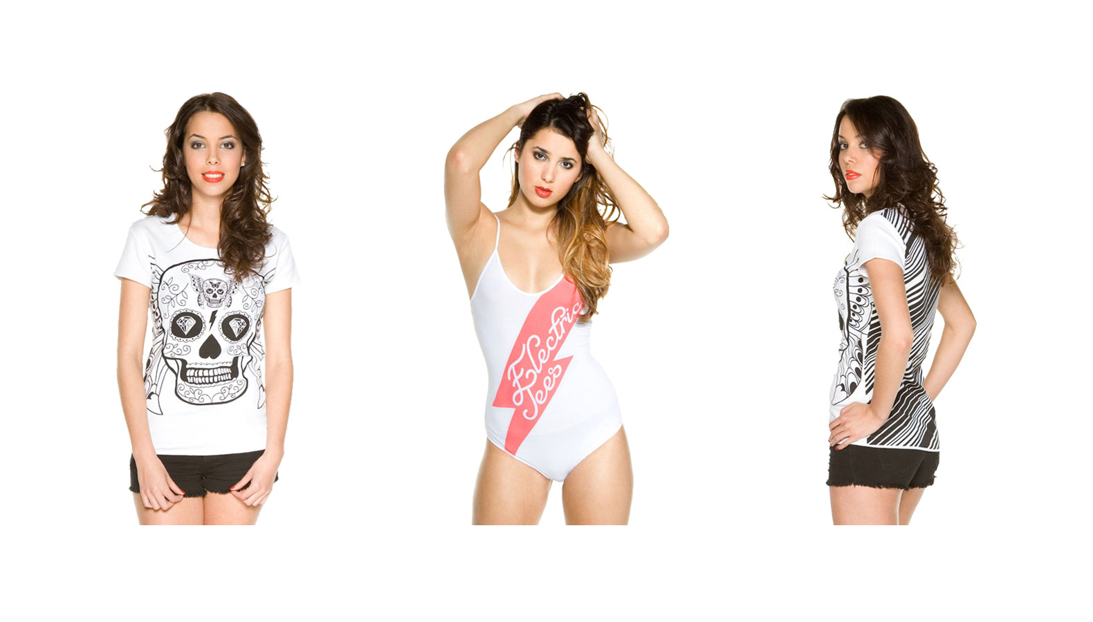 Electric Tees – T-Shirt & Bodies Collection