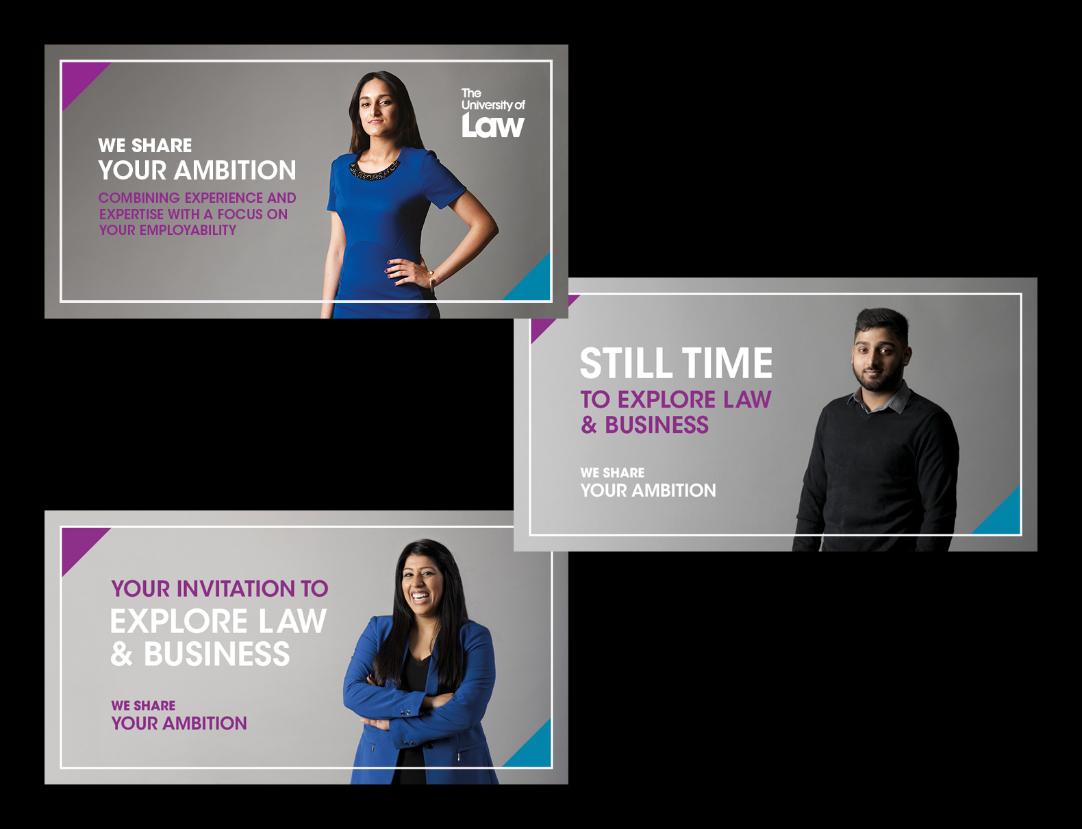 The University of Law – Undergraduate Campaign