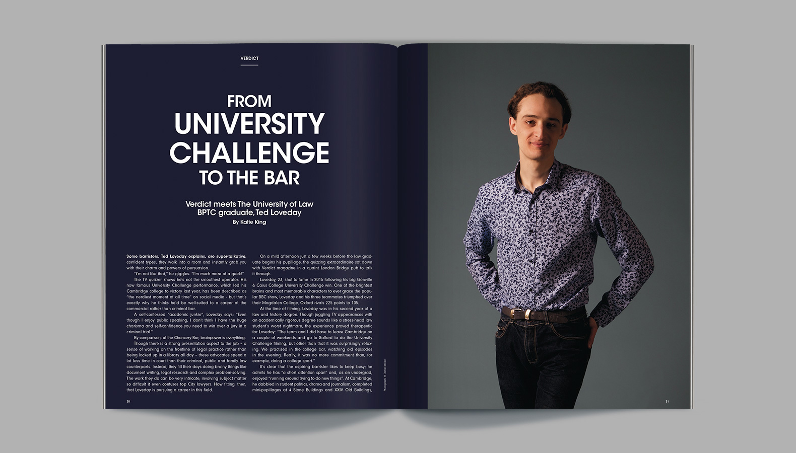 The University of Law – Verdict Magazine Issue 2