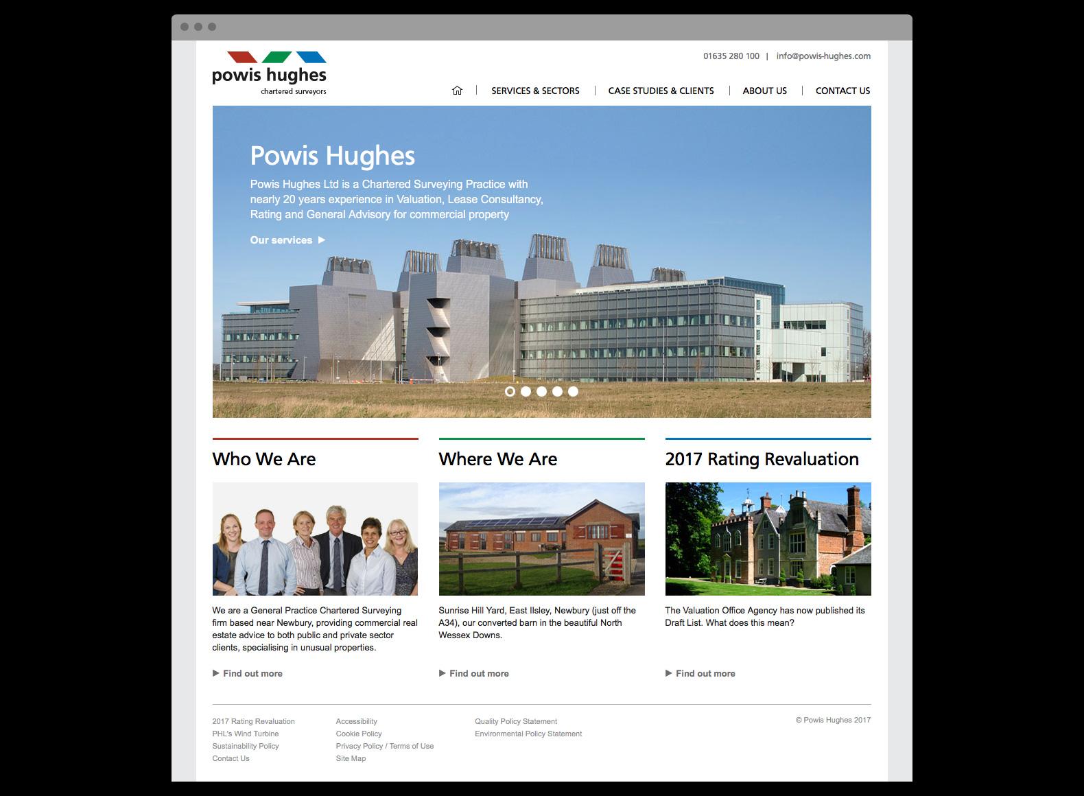 Powis Hughes – Website