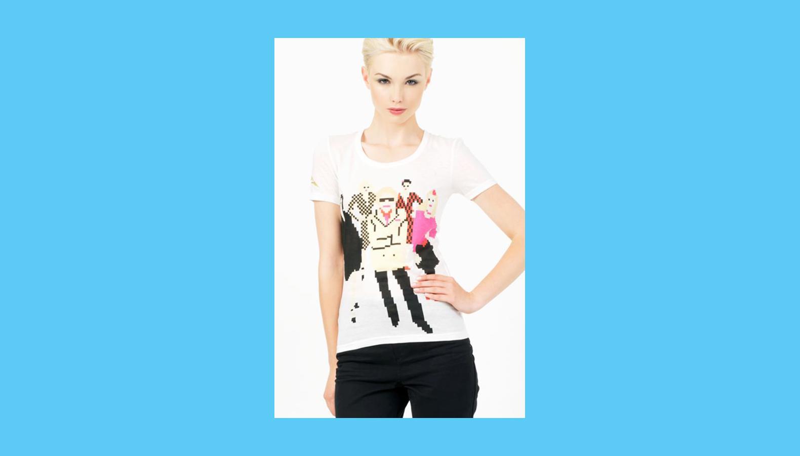London Denim – Pixel T-Shirt Collection